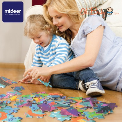 Mideer Gift Pack Puzzle Dinosaur Age 104 Pcs 3 years+