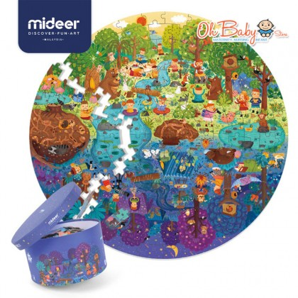 Mideer A Day In The Forest Puzzle 150 Pcs 5 years+