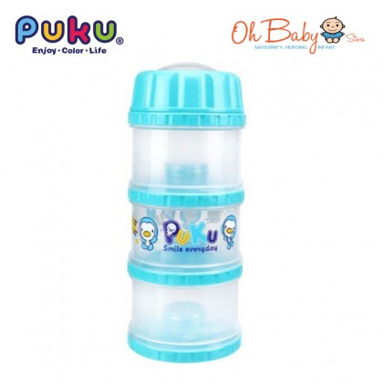 Puku 3 Layer Independent Milk Powder Container