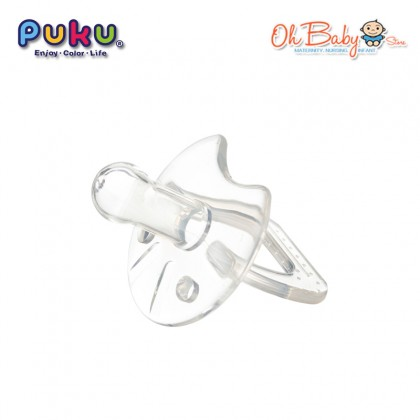 Puku Baby Silicone Pacifier (6m+)