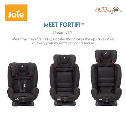 Joie Fortifi Combination Booster Seat Group 1 / 2 / 3 from 9-36kg Car Seat