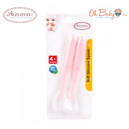 Autumnz Soft Silicone Baby Spoon