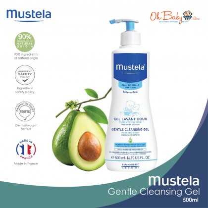 Mustela Gentle Cleansing Gel for Baby Normal Skin (500ml)