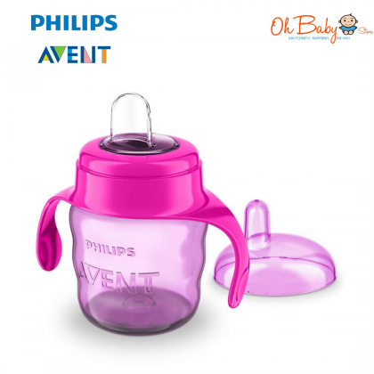 Philips Avent My Easy Sippy Classic Soft Spout Cup 7oz/200ml