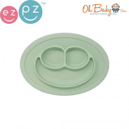 Ezpz The Happy Mini Mat Placemat + Plate in One