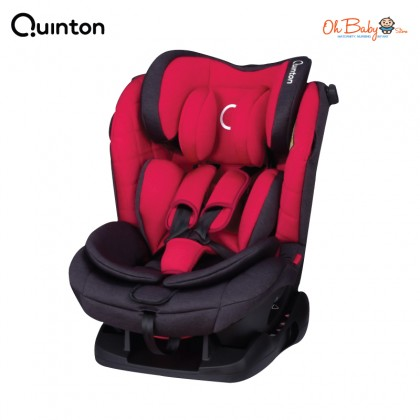 Quinton Silver Safety Car Seat (Red / Grey) - Oh Baby Store