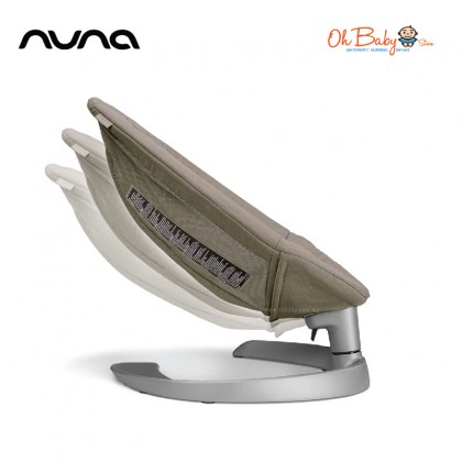 Nuna Leaf Grow Baby Seat with Toy Bar from 0-60kg - Oh Baby Store