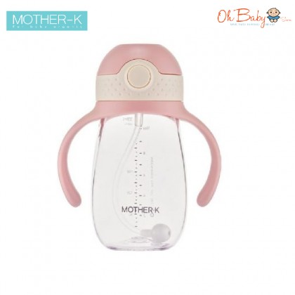 Mother K Hug 360 Tritan Weighted Straw Cup 300ml