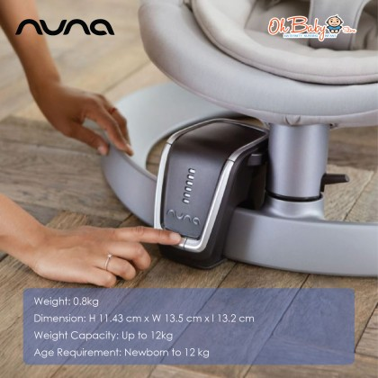 Nuna Leaf Wind With Speed Control - Oh Baby Store