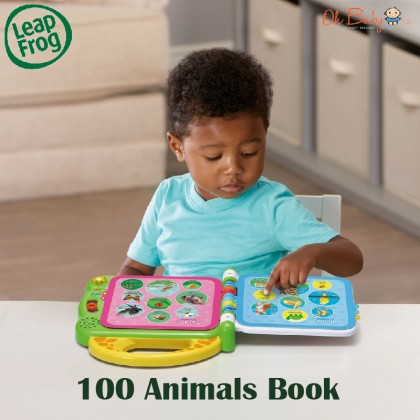 Leapfrog Learning Friends 100 Animals Book™ Baby Toy 18months+ - Oh Baby Store