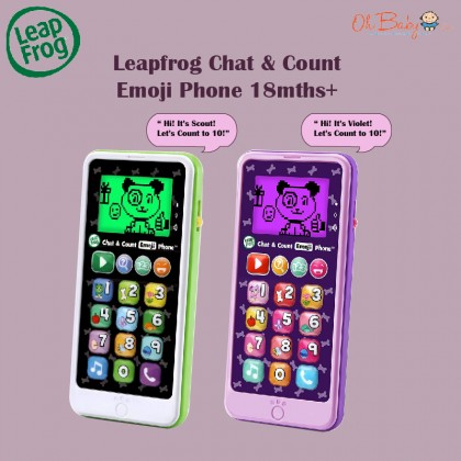 Leapfrog Chat & Count Emoji Phone 18months+
