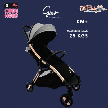 Coby Haus 3 in 1 Grand Package Geo Baby Cot / Gier Stroller / Golly Swing