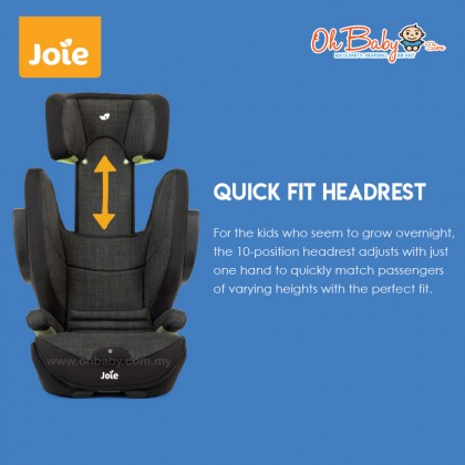 Joie i-Traver Booster Car Seat ISOFIX for Kids 100-135cm