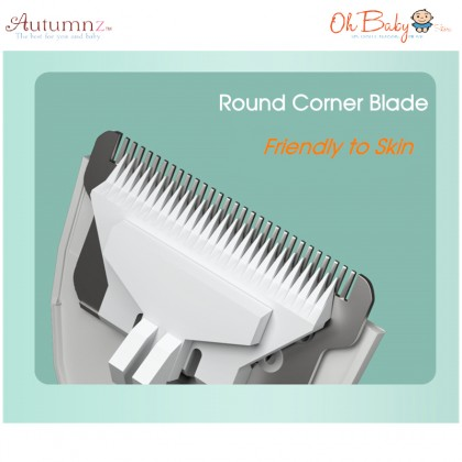 Autumnz Rechargeable Hair Trimmer with Powerful Vacuum Suction - Oh Baby Store