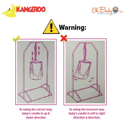 Kangeroo Baby Cradle Stand for New Born up to 20kg