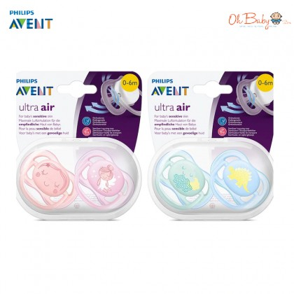 Philips Avent Ultra Air Pacifier 0-6m - Oh Baby Store