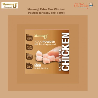 MommyJ Extra Fine Chicken Powder for Baby 8m+ (40g) - Oh Baby Store