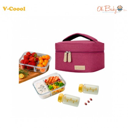 V-Coool Premium Single Layer Cooler Bag - Oh Baby Store