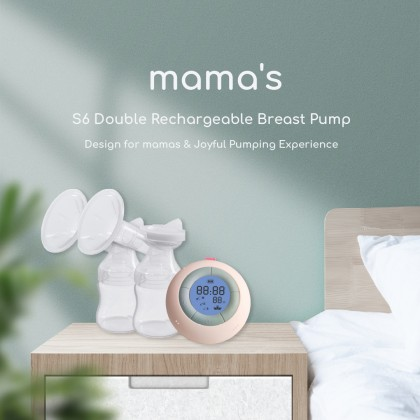 Mama's S6 Double Rechargeable Breast Pump
