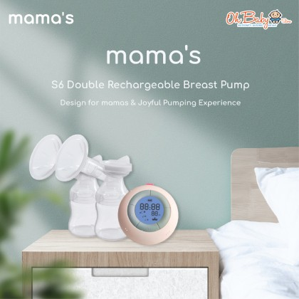 Mama's S6 Double Rechargeable Breast Pump Accessories Parts