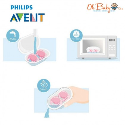 Philips Avent Ultra Air Animals Soother 0-6m