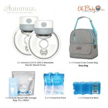 Autumnz GAYA GEN 2 Wearable Electric Breast Pump with Free Gift