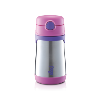Thermos - Foogo Vacuum Insulated Straw Bottle 300ml Pink