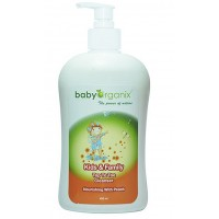 Baby Organix - Kids & Family Top To Toe Cleanser 400ml (Peach)