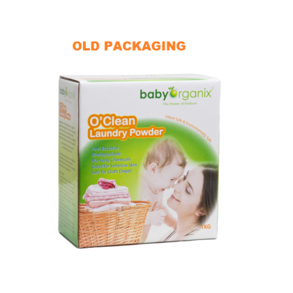 Baby Organix - O' Clean  Laundry Powder 1KG