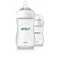 Avent - Natural Bottle 9oz / 260ml (Twin Pack)