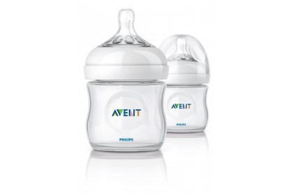 Avent - Natural Bottle 4oz / 125ml (Twin Pack)