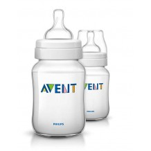 Avent - Classic+ Bottle 9oz / 260ml Twin Pack