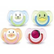 Avent - Animal BPA Free Soother 6-18m (2pcs)