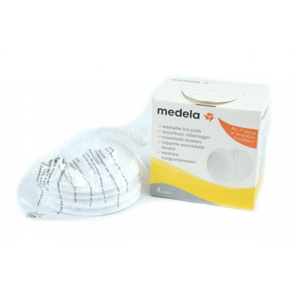 Medela - Washable Bra Pads (4pcs) - BEST BUY