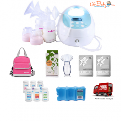 Spectra S1 Plus Hospital Grade Double Electric Breast Pump Package