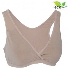 Autumnz - TILIA Bamboo Sleep Bra*w removable cup padding*(LATTE)