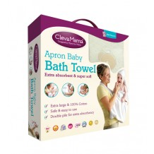 Clevamama - Splash And Wrap / Apron Baby Bath Towel