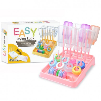 EASY - Bottle Drying Rack (Bubblegum)
