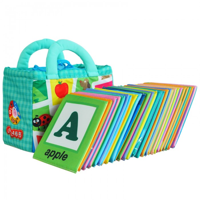 Learning And Development Toys : Lala cloth book