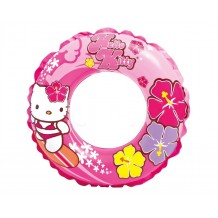 "Intex - Hello Kitty Swim Ring (Ages 6 To 10) 24"" - BEST BUY"