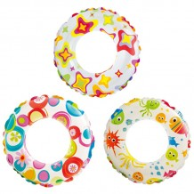 "Intex - Lively Print Swim Ring 20"" - BEST BUY"