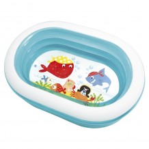 "Intex - Oval Whale Fun Pool 64""x42""x18"" - BEST BUY"