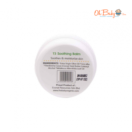 Baby Organix Buzz Off Soothing Balm 20gm