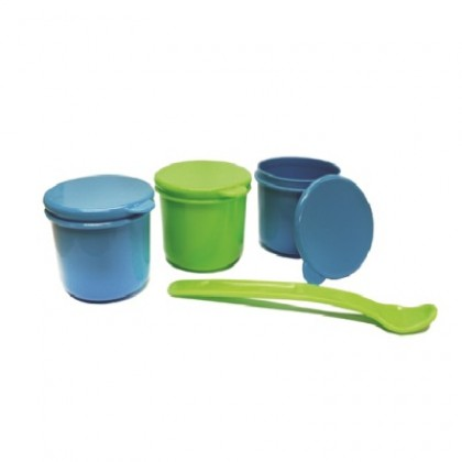 Treenie - Food Storage Containers & Feeding Spoon Set