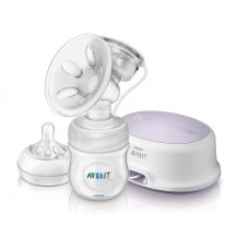 Avent - Single Electric Breast Pump FOC Travel Bag