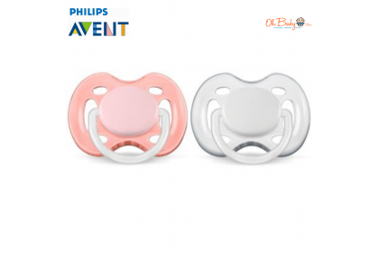 Avent - Freeflow BPA Free Soother 0-6m (2pcs)