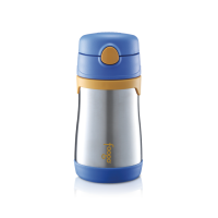 Thermos - Foogo Vacuum Insulated Straw Bottle 300ml Blue