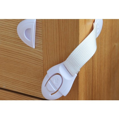 Cabinet & Drawer Lock - Furniture Secure Strap (1pc)