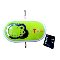 OTO Electronic Baby Cradle With Remote Control (With Timer & Music)