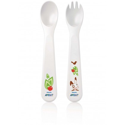 Avent - Fork & Spoon 12m+